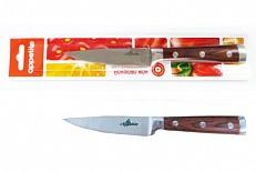Нож Нож нерж Престиж  д/овощей  9см, в блистере размер общий 20см, длина лезвия 9см