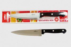 Нож Нож нерж Шеф  поварской 15см, в блистере размер общий 27см, длина лезвия 15см