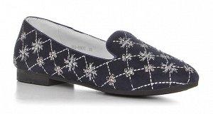 Туфли BUDDY DOG, Синий для девочек 22-22,5 см