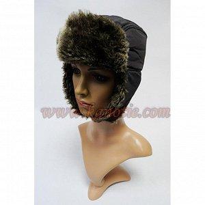 Ушанка мужские шапки Maxval, модель UM1020002, Размер 55-57, Состав: 100%нейлон, Упаковка: 5 штук., Цвета: черный.