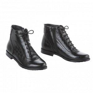Универсальные ботинки из каймана. Модель 3149 н кайман (зима)