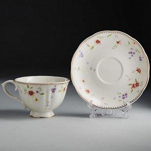 """Набор чайный 12 предметов МН013P/6 """"Флориана"""" в подарочной коробке"""