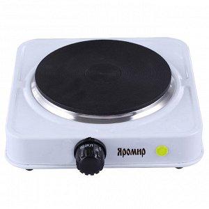 Плита электрическая 1000 Вт настольная 1-конфорочная ЯРОМИР ЯР-3501 белая