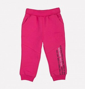 Брюки для девочки Crockid КР 4625 темно-розовый к189