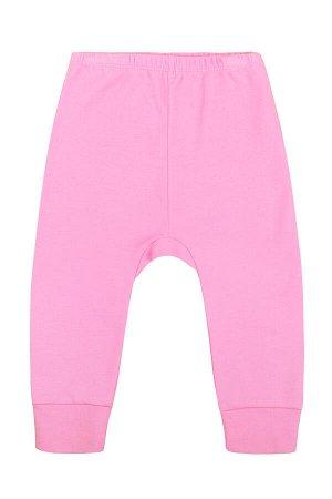 Брюки для девочки Crockid К 4522 ярко розовый1