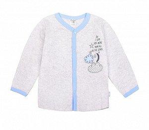 Кофточка для мальчика Crockid К 3971 серо-голубой мел (голуб. звездочки)