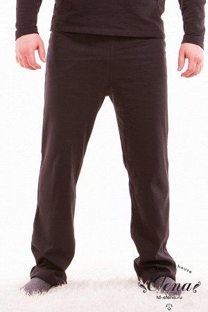 Брюки Мужские брюки из футер петли, с карманами по бокам. Пояс брюк на резине. Размерный ряд: 44-70. Состав Хлопок 95% Лайкра 5% Артикул 11605 Базовая единица шт