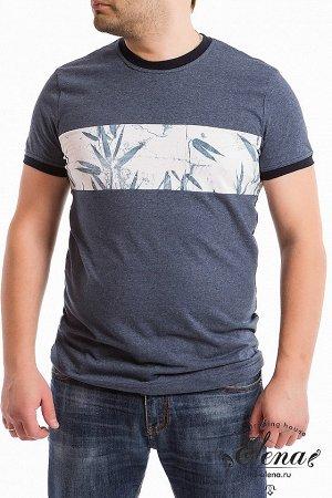 Футболка Мужская футболка с коротким рукавом выполнена из 100% хлопка двух цветов. По горловине и низу рукавов планки контрастного цвета. Размерный ряд: 44-62. Состав Хлопок 100% Артикул 11911 Базовая