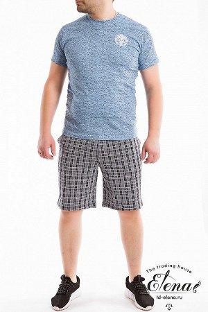 Шорты Мужские шорты выполнены из кулирки, 100% хлопок. По бокам расположены карманы, пояс на резинке. Размерный ряд: 44-62. ВНИМАНИЕ!!! На данную модель гарантии по цвету нет! Расцветка может отличать