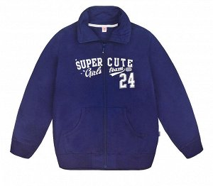 Куртка для девочки Crockid К 300294 глуб. синий1