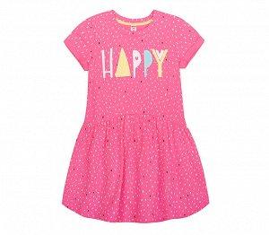 Платье для девочки Crockid К 5417 роз.облако дождик к115