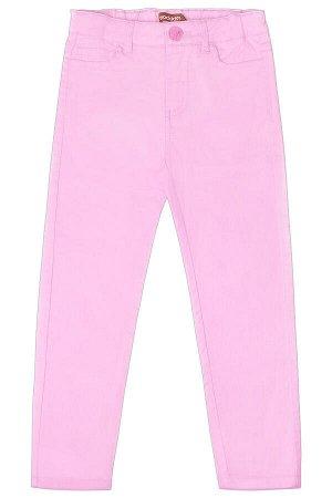 Брюки для девочки Crockid ТКР 46107 светло-розовый к171