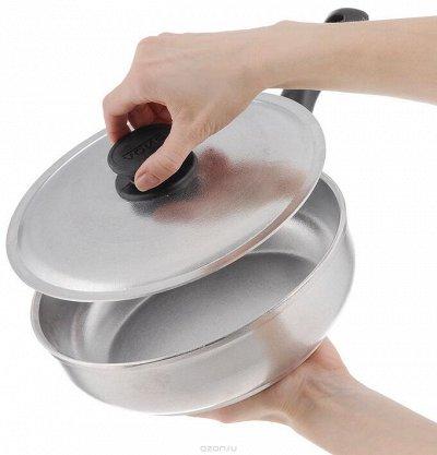 БИОЛ: Сковородочки чугун+антипригарное с завода — АЛЮМИНИЕВАЯ ПОСУДА  — Посуда