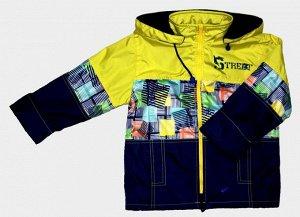 РАСПРОДАЖА  Куртка для мальчиков на флисе