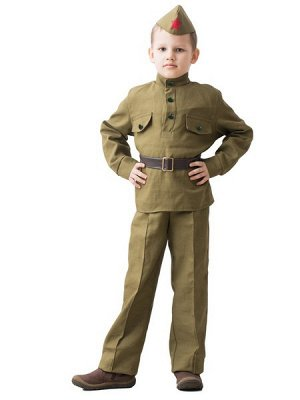 Военная форма д Солдат  8-10 лет