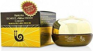 FarmStay Escargot Noblesse Intensive Cream Крем для лица с экстрактом королевской улитки, 50 гр.
