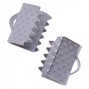 Зажимы для лент, хирургическая сталь, р-р 8.5х7.5мм, отв-е 1.5мм