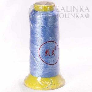 Нитки синтетические толщина 0.3мм, цвет голубой., Нитки синтетические толщина 0.3мм, цвет голубой, катушка 12см.
