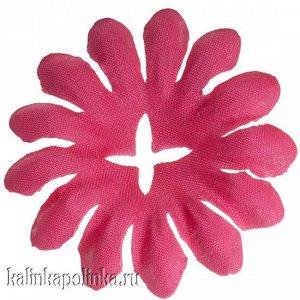 Детали для изготовления цветов, р-р ок. 45мм, цвет ярко-розовый