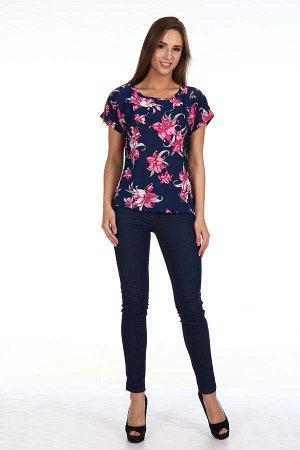 Блузка женская, цветы