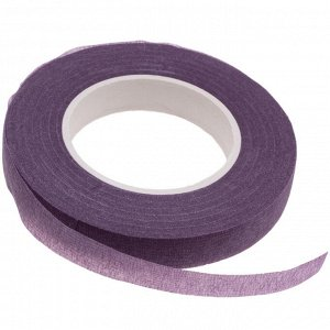 Флористическая лента (тейп лента), ширина 12мм, цвет сиреневый., Флористическая лента (тейп лента), ширина 12мм, цвет сиреневый