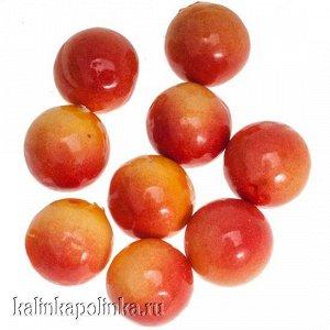 Ягодки оранжево-желтые искусственные, р-р ок. 1.5см