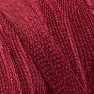Лента эластичная бордовая, ширина 15мм