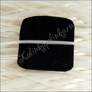 ОПТ Нить силиконовая, волокнистая (спандекс) белая, диам. 1.2мм.