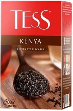Чай Tess Kenya (Кения) черный, листовой, 100 г