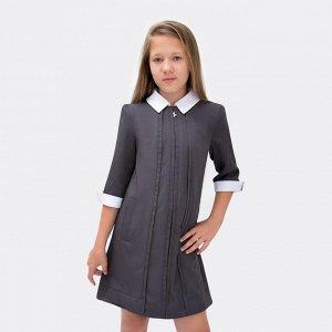 Платье Соль&Перец/Цвет: темно-серый