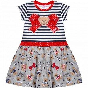 Платье Pink Teddy Bear для девочки