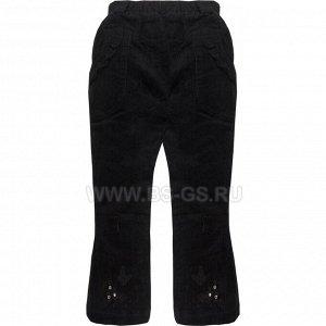 Штаны ЦВЕТ: черный,  Замеры модели* * рост указан приблизительно, ориентируйтесь на замеры *Размер 15 (рост 80-86 см): *длина изделия по бок. шву 45 см, по внутр. 27 см, ширина 19 см. *Размер 16 (р