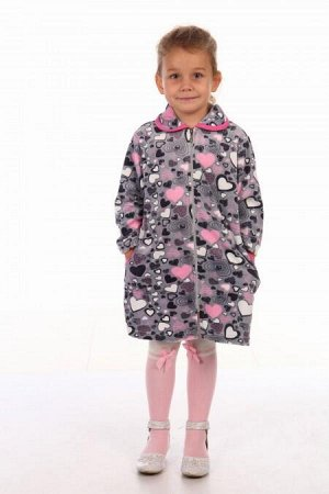 Халат Халат детский из велюра на молнии. Расцветки в ассортименте.