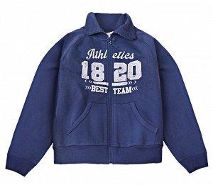 Куртка для мальчика Crockid К 300293 глубокий синий1