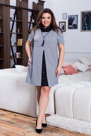 Платье-двойка 7809