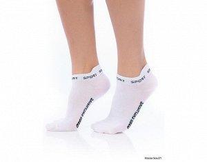 Носки Белый носки Материал COTTONХЛОПОК 90% ЭЛАСТАН 10%