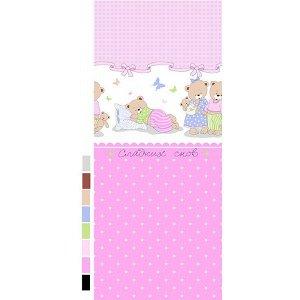 Детский комплект в кроватку Сладких снов, розовый (ТР 1703-4)