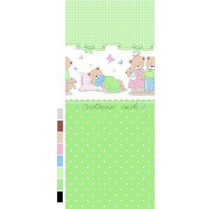 Детский комплект в кроватку Сладких снов, зеленый (ТР 1703-3)
