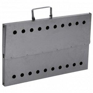Мангал-дипломат №1 40 ? 25 ? 40 см, сталь 1,5 мм, в сумке