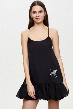 Ночная сорочка жен. Sweep черный