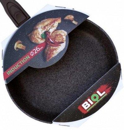 БИОЛ: Сковородочки чугун+антипригарное с завода — ПОСУДА ДЛЯ ИНДУКЦИОННЫХ ПЛИТ  — Посуда