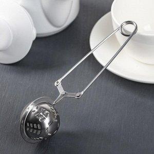 Ситечко для чая Доляна «Ёлочка», 16,5 см