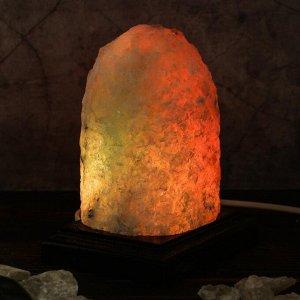 """Соляная лампа """"Зарница"""", 16 см, 1-2 кг"""