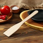 Лопатка кухонная 260х50х3 мм, бук 1814469
