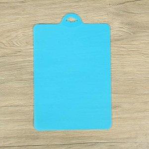Набор досок разделочных прямоугольных Доляна, 32?21 см, 4 шт, цвет МИКС