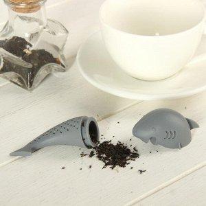 Ситечко для чая «Акула», 8,5 см