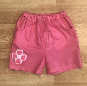 шорты ярко-розовые