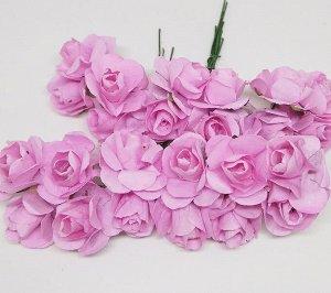 Цветы бумажные. Розы. Св.розовый