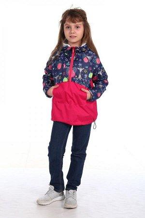 Анорак Характеристики: Состав- п.э.; Материал: курточная ткань Анорак это легкая куртка из водонепроницаемой ветрозащитной ткани. Ее особенность в том, что она одевается через голову. На полочке - кар