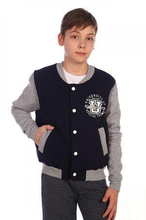 Куртка Материал: футер Самый модный и любимый бомбер теперь появился и среди наших моделей! Плотно прилегающие пояс и манжеты не допустят попадания холодного воздуха внутрь. Он изготовлен из плотного